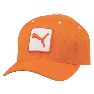 puma-cat-patch-relax-fit-czapka-golfowa-pomaranczowa