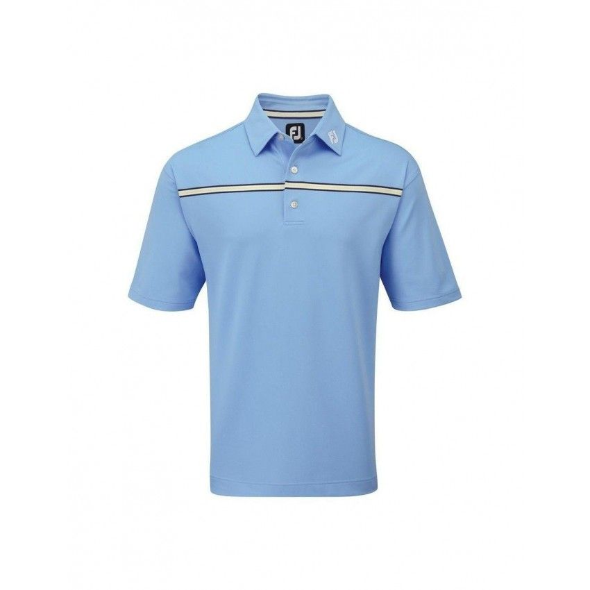 FootJoy Stretch Pique Chest Polo -...