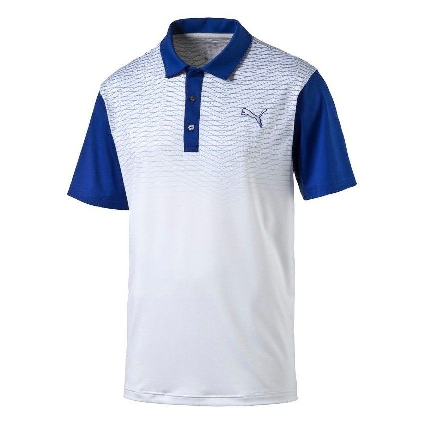 PUMA GT Color Block Fade Polo -...