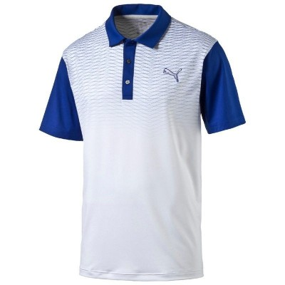 PUMA GT Color Block Fade Polo - koszulka golfowa