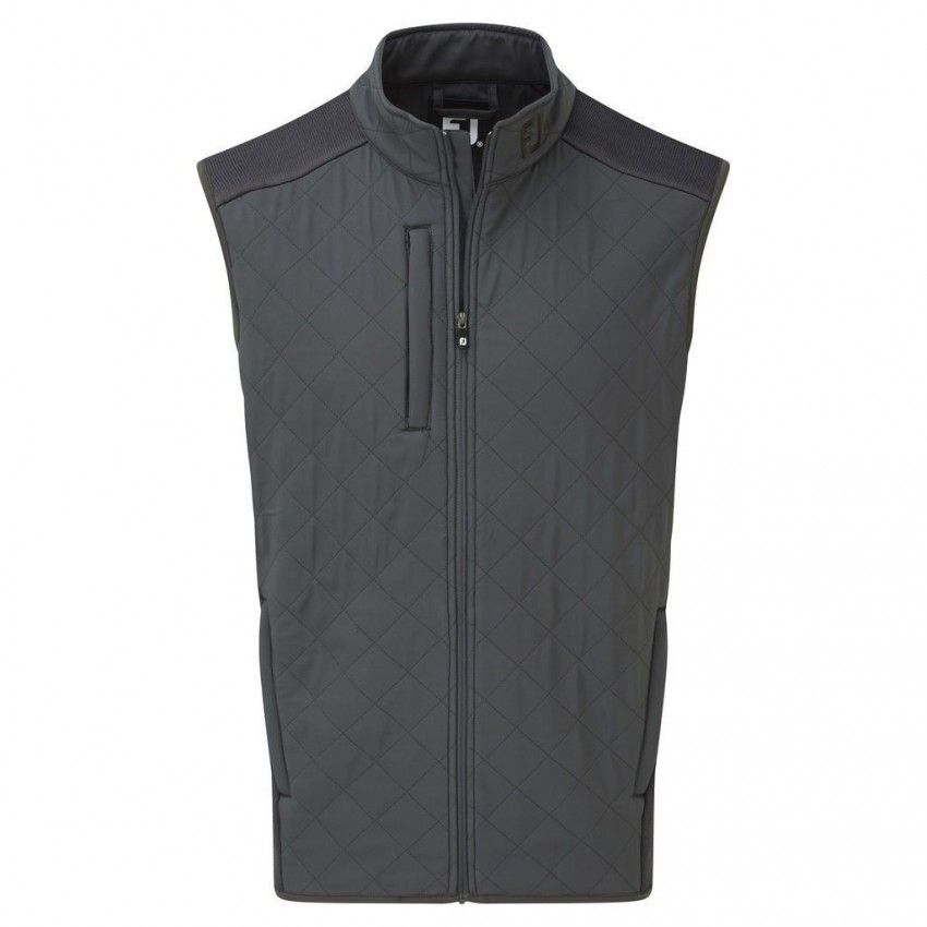 FootJoy Fleece Quilted Vest -...