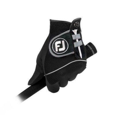 FootJoy RainGrip - rękawiczki golfowe - para - czarna