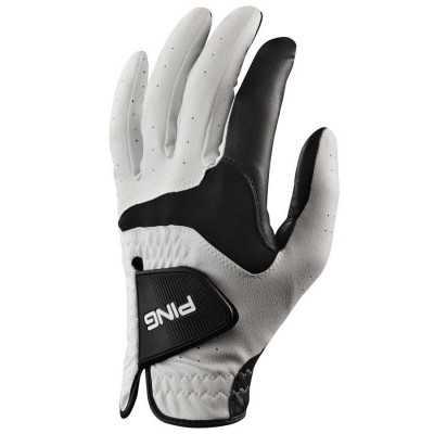 PING Sport - rękawiczka golfowa - lewa - biało-czarna