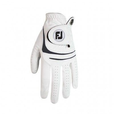 FootJoy WeatherSoft - rękawiczka golfowa -  biało-czarna