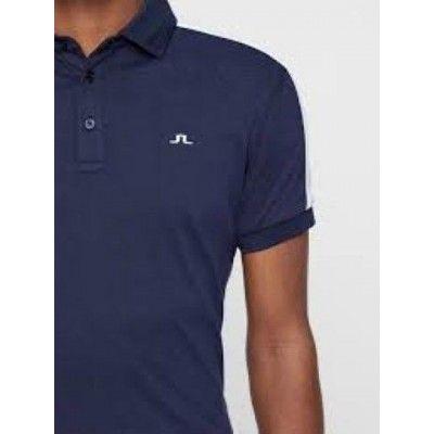 J.Lindeberg M Billi Slim Cotton Poly Polo - koszulka golfowa