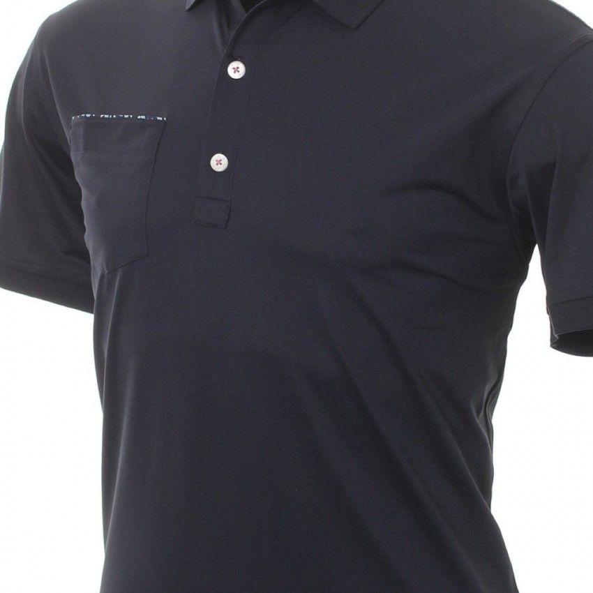 FootJoy-Super-Stretch-Pique-z-kwiecistym-wykonczeniem-Polo-koszulka-golfowa-granatowa-2