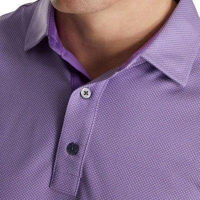 FootJoy-4-Dot-Jacquard-Polo-koszulka-golfowa-fioletowa-4