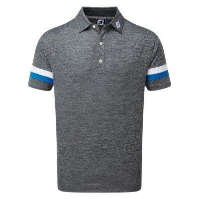 FootJoy-Smooth-Pique-Space-Dye-Polo-koszulka-golfowa-szara