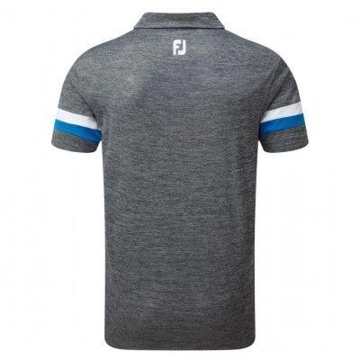 FootJoy-Smooth-Pique-Space-Dye-Polo-koszulka-golfowa-szara-2