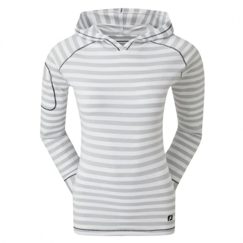 FootJoy-Jersey-Tonal-Melange-Stripe-bluza-golfowa-bialy