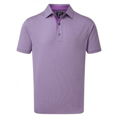 4 Dot Jacquard Polo