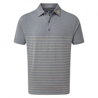 FootJoy Heather Lisle Engineered Pinstripe Polo - koszulka golfowa - różne kolory