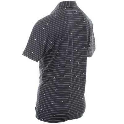 FootJoy-Lisle-Stripe-Leaf-Print-Polo-bluzka-golfowa-granatowa-3