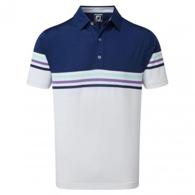 FootJoy-Deep-Blue-with-White-Polo-bluzka-golfowa-granatowo-biala