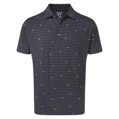 FootJoy-Lisle-Stripe-Leaf-Print-Polo-bluzka-golfowa-granatowa