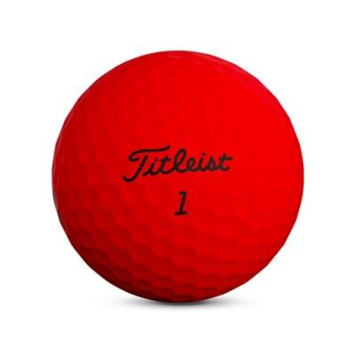 Titleist-trufeel-pilki-golfowe-czerwone-2