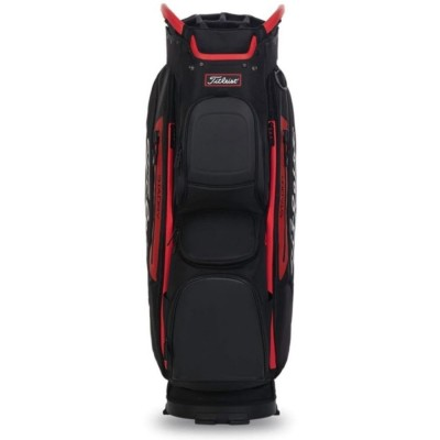 Titleist-Cart-15-Lightweight-torba-golfowa-czarno-czerwona-4