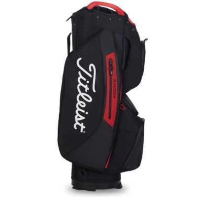 Titleist-Cart-15-Lightweight-torba-golfowa-czarno-czerwona-5
