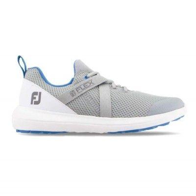 FootJoy-Flex-buty-golfowe-szaro-niebieskie
