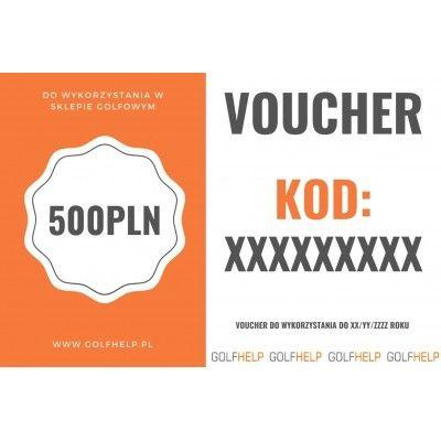VOUCHER Podarunkowy 500PLN GolfHelp.pl