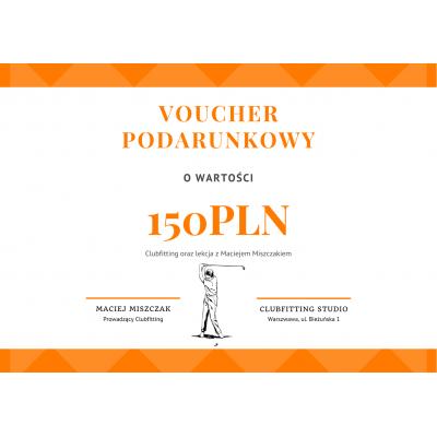 ⛳ GolfHelp Clubfitting 150 - Voucher Podarunkowy