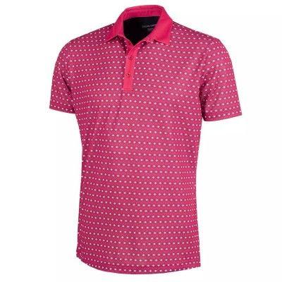 Galvin-Green-Mario-Polo- koszulka-golfowa-czerwona