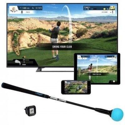 PHIGOLF - symulator golfowy - czarny