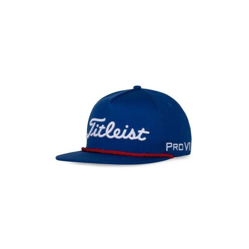 TITLEIST Tour Rope Flat Bill- czapka...