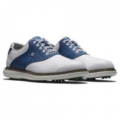 FootJoy Traditions - buty golfowe - biało-granatowe