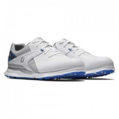 FootJoy Pro SL - buty golfowe - biało-niebieskie