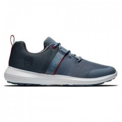 FootJoy Flex - buty golfowe - szaro-niebieskie