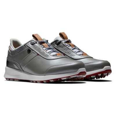 FootJoy Stratos - buty golfowe - srebrne