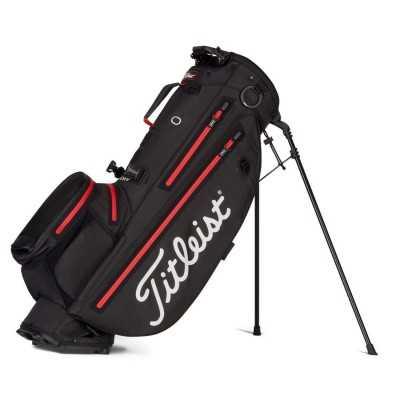 Titleist-Players-4-Plus-StaDry-torba-golfowa-czarno-czerwona_golfhelp