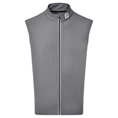 FootJoy Full Zip Knit Vest - kamizelka golfowa - szara