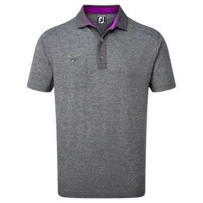 FootJoy-Heather-Pique-with-Pinstripe-Trim-koszulka-golfowa-czarna_golfhelp