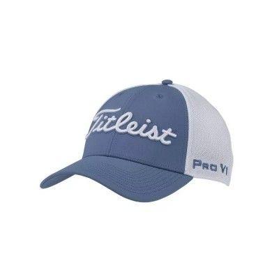 Titleist Tour Sports Mesh Trend Collection - czapka golfowa - szara