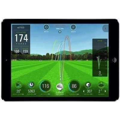 SkyTrak Golf - symulator golfowy + metalowy case
