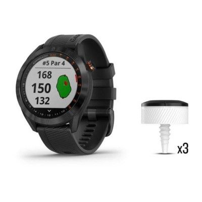 Garmin Approach S40 Bundle - urządzenie GPS - czarny