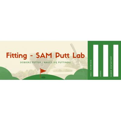 Fitting SAM Putt Lab - dobieranie kijów z SAM Putt Labem