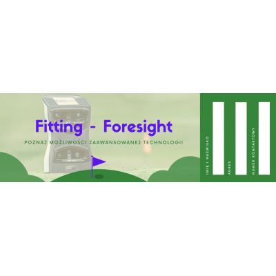 Fitting Foresight - dobieranie kijów z Foresightem