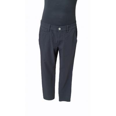 Alberto 1374 ROOKIE - czarne w kropki - spodnie golfowe