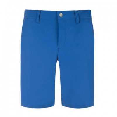 Alberto 1621 EARNIE - niebieskie - szorty golfowe