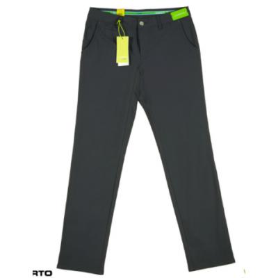 Alberto 1371 ROOKIE - czarne - spodnie golfowe
