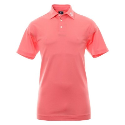 FootJoy Stretch Pique Solid - koszulka golfowa - różowa