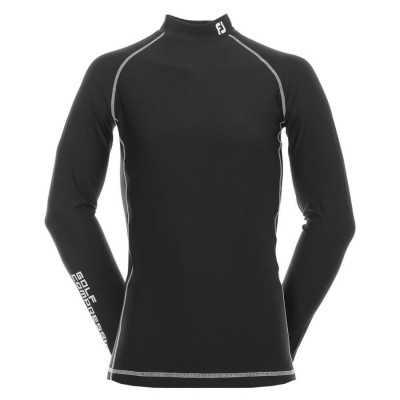 FootJoy ProDry Mock Baselayer - termiczna koszula golfowa - czarna