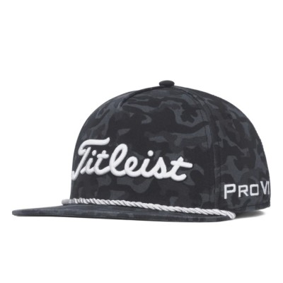 Titleist Tour Rope Flat - czapka golfowa - camo
