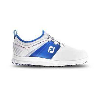 FootJoy SuperLites XP - buty golfowe - biało-niebieskie