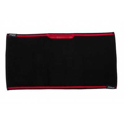 Titleist Players Towel - ręcznik golfowy - czarny