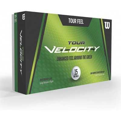 Wilson Tour Velocity - piłki golfowe - białe